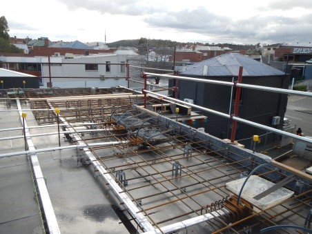 2nd floor almost ready to pour