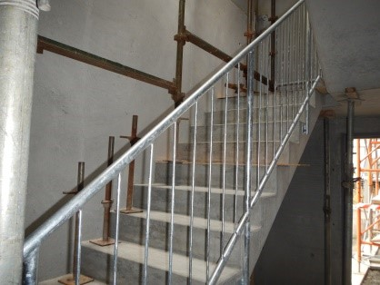 HBC Escape Stairs Gnd to 1st floor
