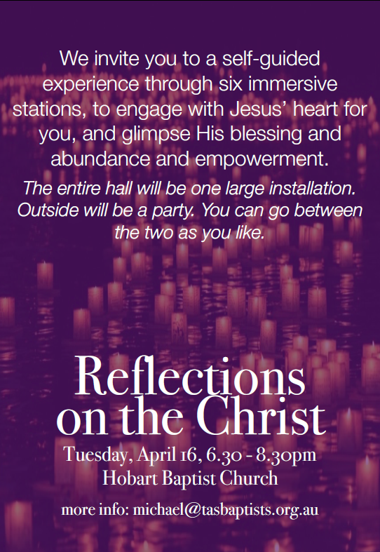 Refelctions on the Christ Invitation