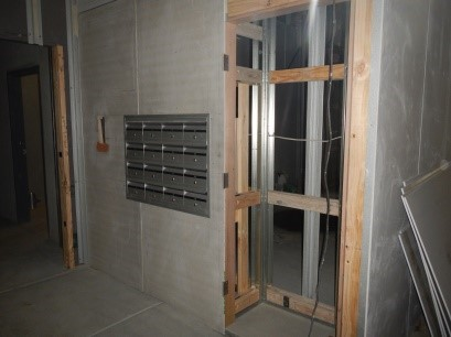 Unit Letter Boxes & FHR Enclosure