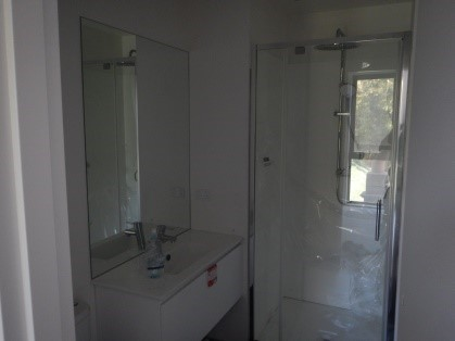 A fitted out Ensuite