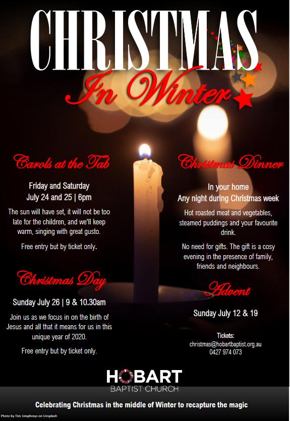 Christmas in Winter Carols 24-25 Jun 20