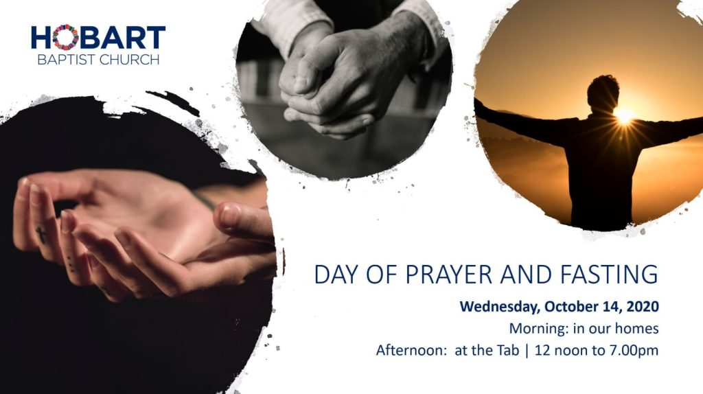 BC Day of Prayer and Fasting, Oct 15, 2020