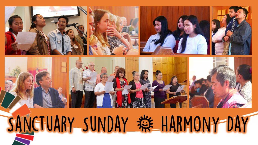 Sanctuary Sunday, Harmony Day 2021