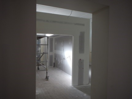 Looking through to the new Kitchen
