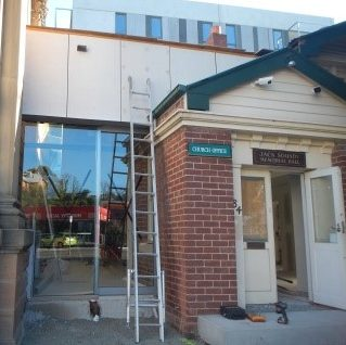 HBC entry being built