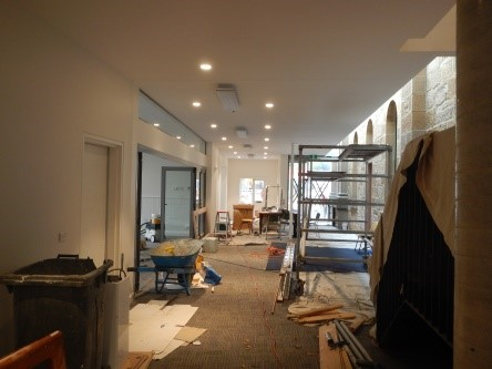 Foyer - nearly complete