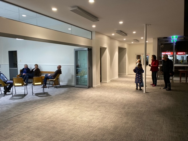 New Foyer and Soundy Lounge