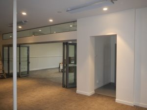 The New Foyer and Meeting Room